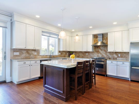 The kitchen of the house at 87 Tuckahoe Ave. in Eastchester.