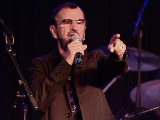 Ringo Starr press event