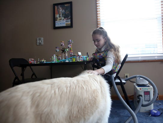 Dealing with cystic fibrosis hasn't stopped Brianna