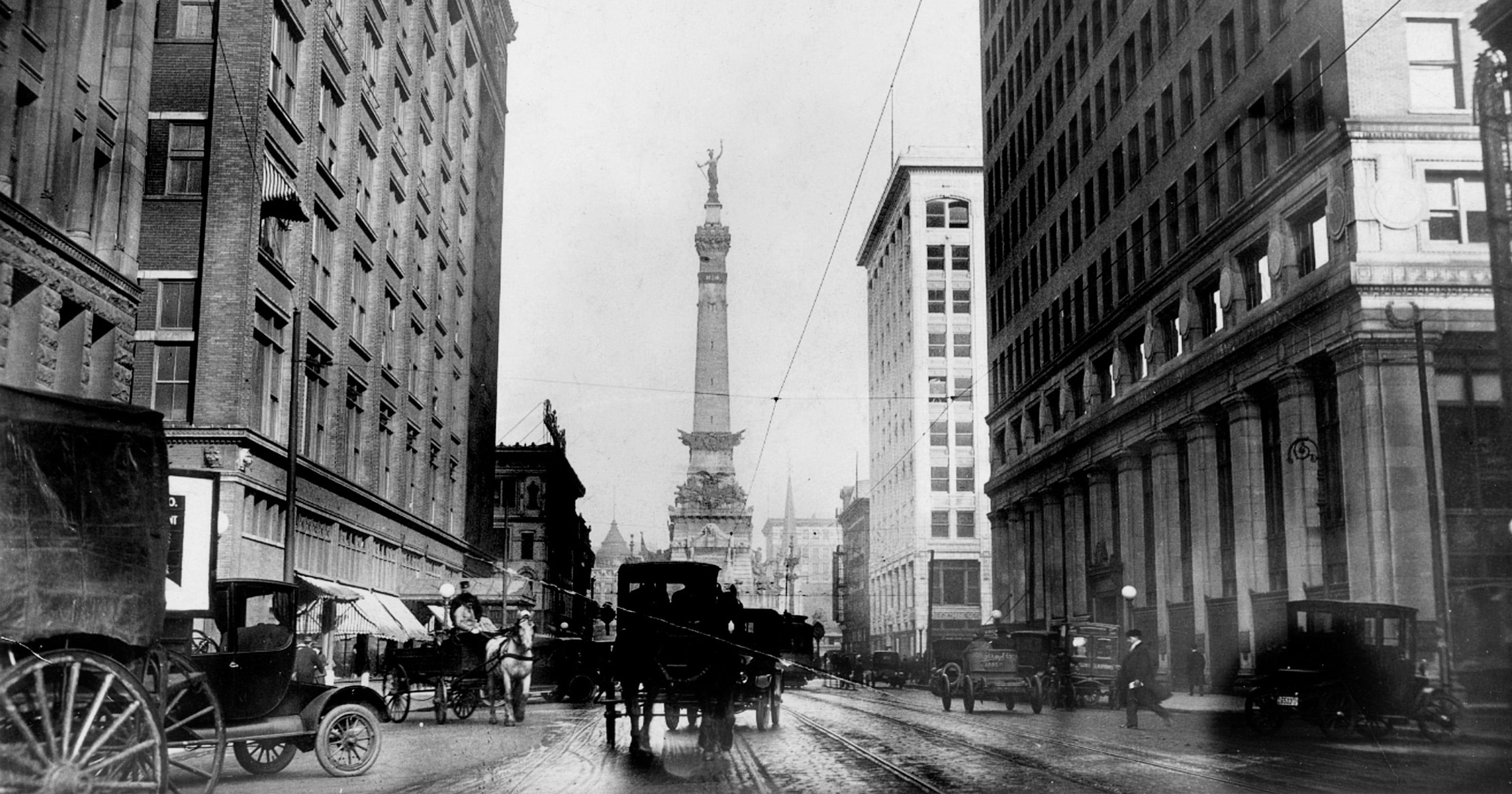 Retroindy 10 Vintage Photos Of Indianapolis City Scenes