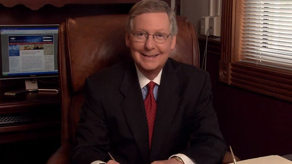 Mitch McConnell in video