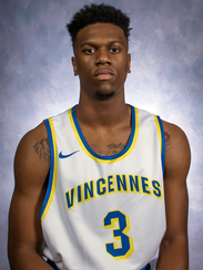 C.J. Hedgepeth, a sophomore from Harrison High, starts at guard for Vincennes University.