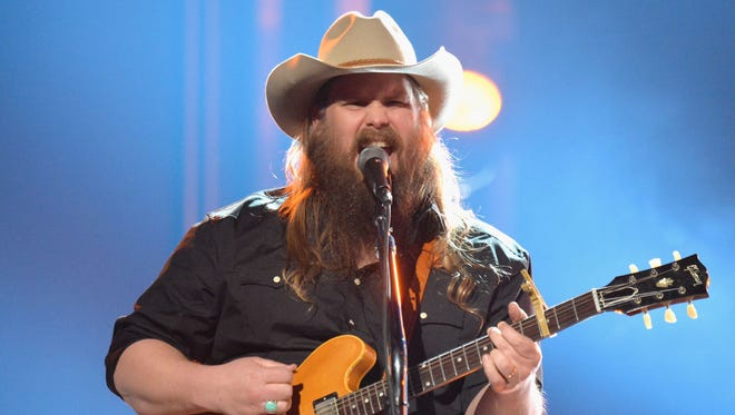 Chris Stapleton will perform at 7 p.m. Oct. 26 at Thompson-Boling Arena.