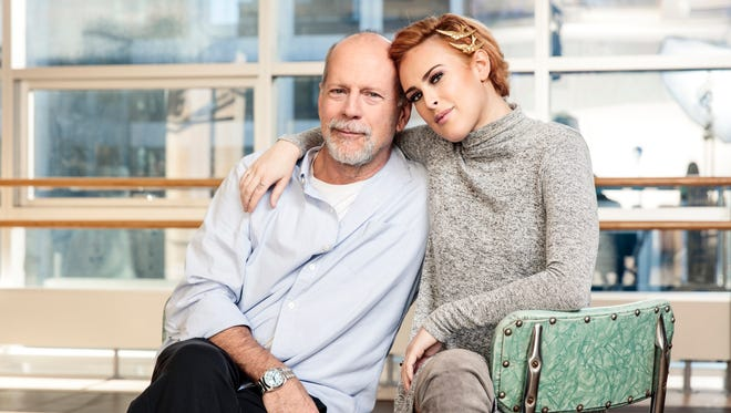 Bruce Willis and daughter Rumer are both making Broadway debuts this fall - Bruce Willis in 'Misery,' and Rumer in 'Chicago.'