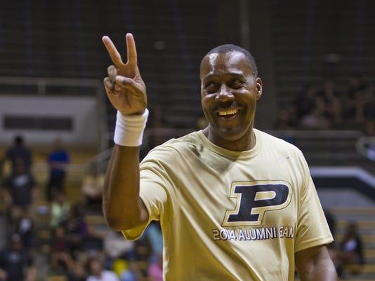 LAF Purdue men's basketball alumni game