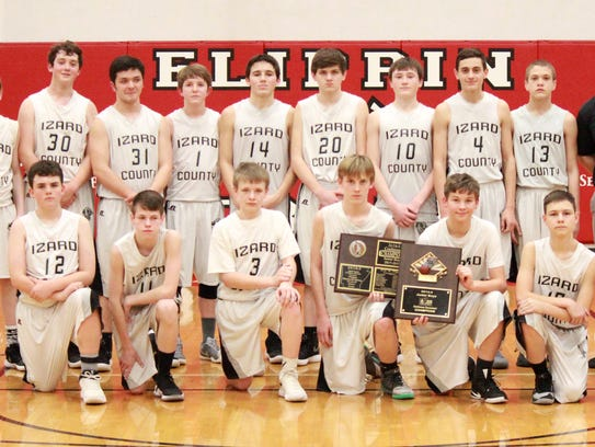 District champion Izard County Junior Cougars