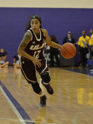 Aundrea Davis and the ULM women play at Appalachian State on Saturday.