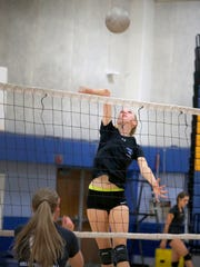 Clare Palmer is one of the top hitters for the Agoura