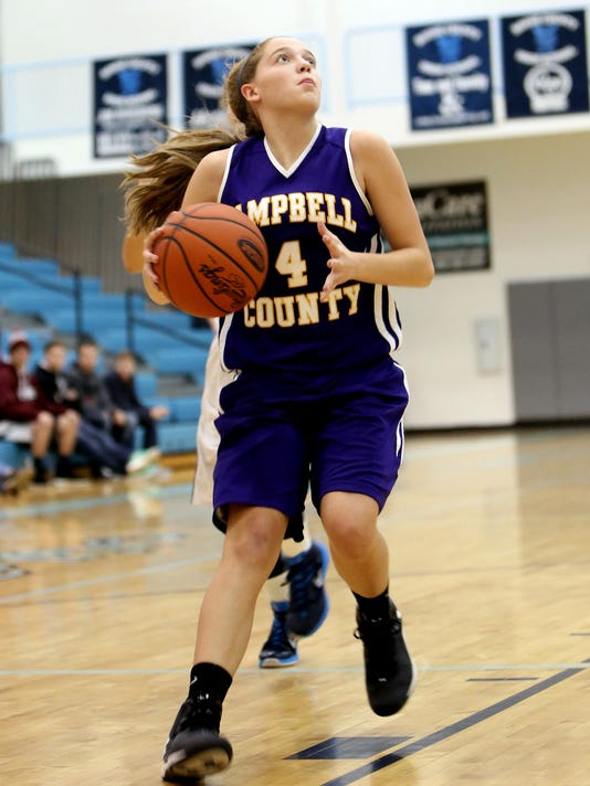 Campbell County at Boone County Girls Basketball