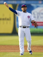 Shortstop Isaac Paredes is ranked as the No. 10 prospect in the Cubs minor league system by MLB.com.