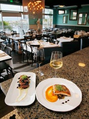 Two of the favorite dishes at Cocovin in Oxnard are