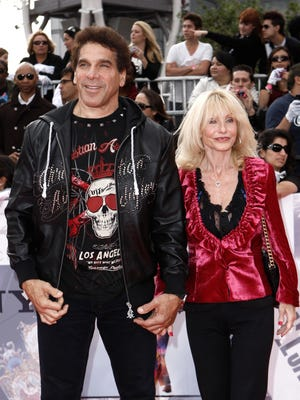 Lou Ferrigno and wife Carla in 2009 in Los Angeles.