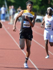 Southern Miss senior Elbert Rogers won the Conference USA Championship in the men's 400 meters last week.