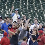 Through 39 games at Miller Park this season, the Brewers' average attendance is down 3,531 fans.