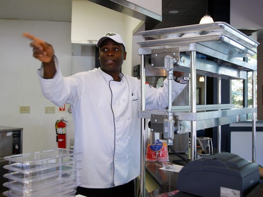 Shawn Fearon makes preparations to open his new restaurant,