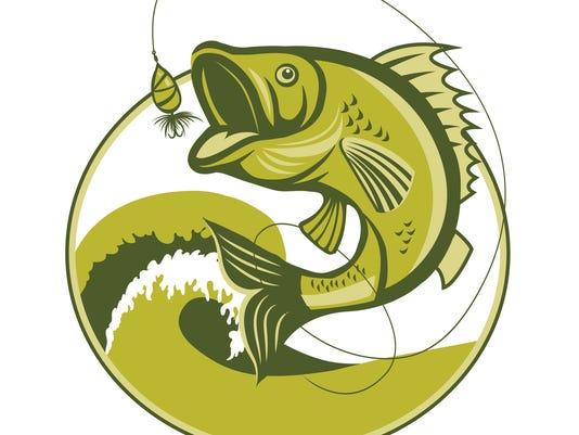 Bass Fish. Bass Fishing Lures. Bass Fishing tackle.