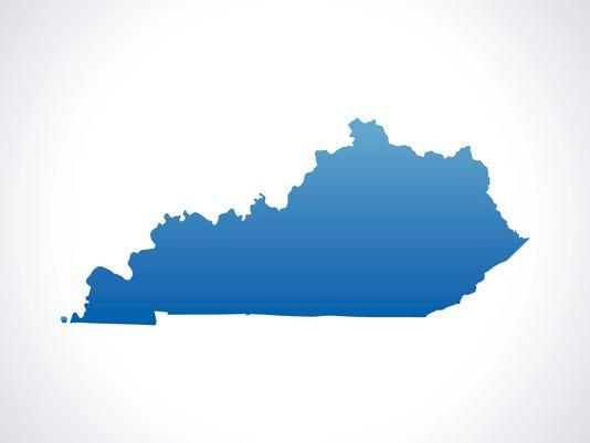Generic Stock Image Kentucky Map