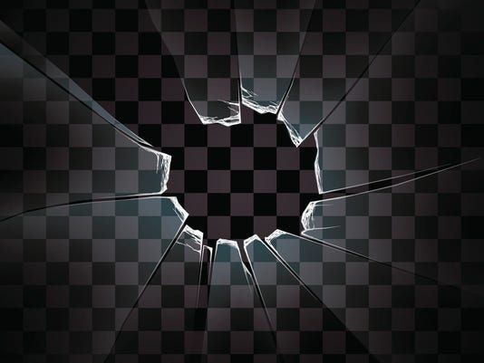 transparent vector the broken glass