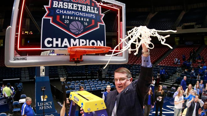 Middle Tennessee Lady Raiders head coach Rick Insell is a finalist for the Women's Basketball Hall of Fame.