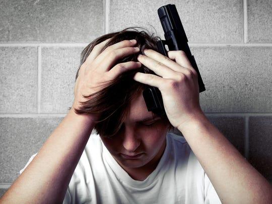 La depresión en los adolescentes y las armas en casa, pueden ser una mezcla mortal.
