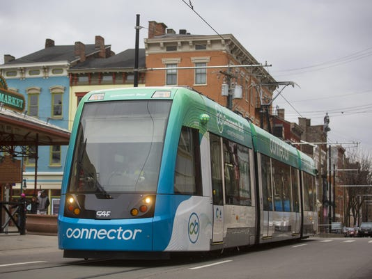 January 27, 2017: Cincinnati Streetcar, Cincinnati Bell Connector, Findlay Market, Liz Dufour
