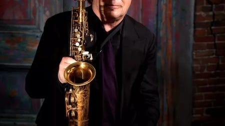 Livestream Greg Abate on Friday, Nov. 6 at 8 p.m. at the Narrows Center for the Arts YouTube.