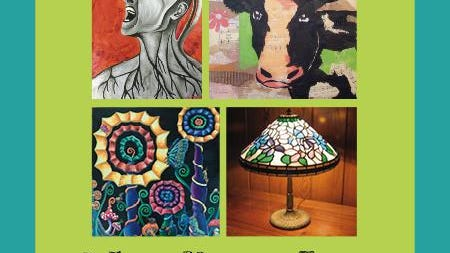 """The Galesburg Civic Art Center is hosting an exhibition featuring the work of four area artists: Marna Jean Blakewell, Anne Carman-Hendel, Aubreigh Moon Disbennett and Jerry Hendel. """"Healing Art"""" is on display in the Joanne Goudie Gallery through Oct. 3."""