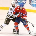 Just back from Buffalo, Varone shines for Amerks