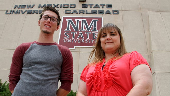Zachariah Holmes and Lisa Monk will be recognized during Friday's graduation ceremony.