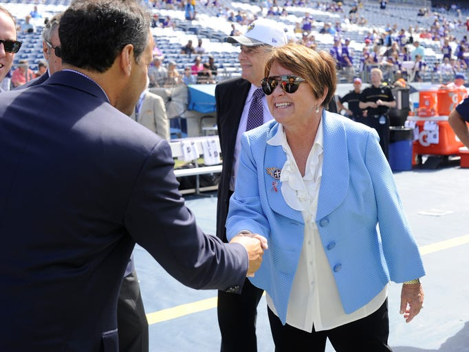 Titans owner Amy Adams Strunk