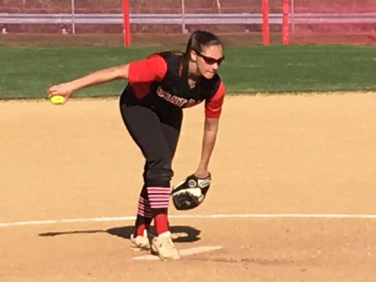 Hunterdon Central ace Kylie Gletow helped lead her