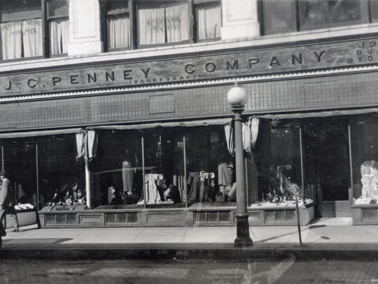 JCPenney was located at 6-16 West Third Street next
