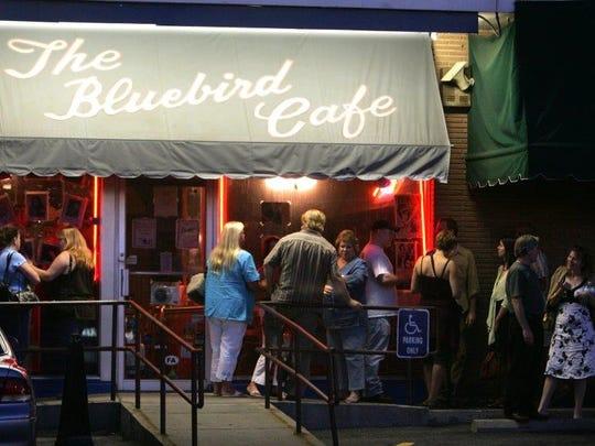 Bluebird Cafe hosts an open mic night at 6 p.m. Mondays.