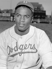 Jackie Robinson was the first African-American baseball player in the Major Leagues, playing for the Dodgers from 1947 until 1956.