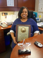Trinette Ballard was elated to be awarded the Florida