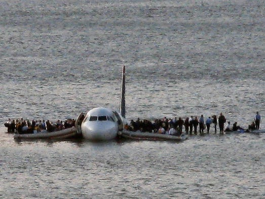 In this Jan. 15, 2009 file photo, airline passengers