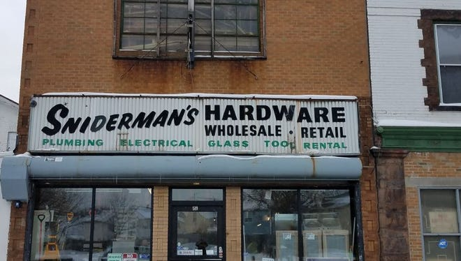 Sniderman's Hardware store in Rochester.