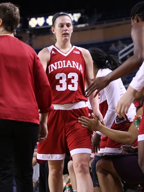 Clyde's Amanda Cahill and Indiana visited Michigan