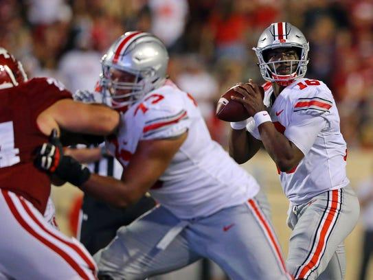 Ohio State quarterback J.T. Barrett helped lead the