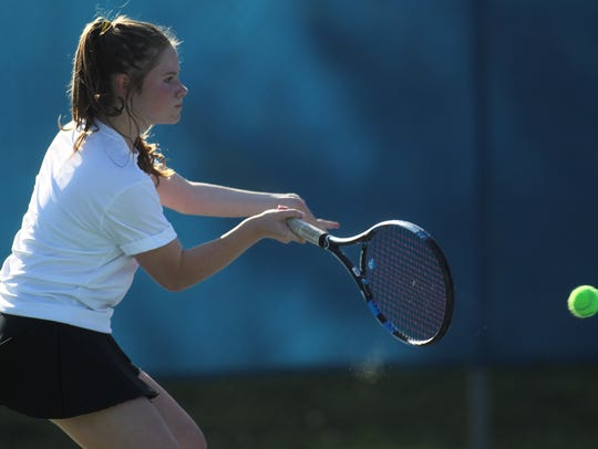 North Florida Christian sophomore Laura Ceci returns