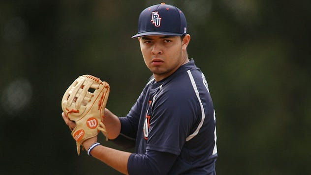Former Redwood standout Rickie Garcia and the Fresno Pacific Sunbirds baseball team will scrimmage the Visalia Rawhide.