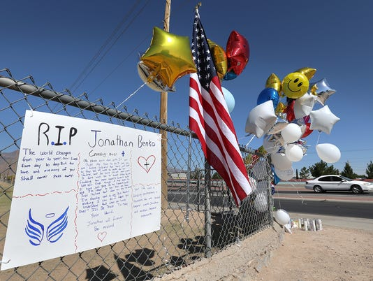 Parkland Middle School memorial for Jonathan Benko