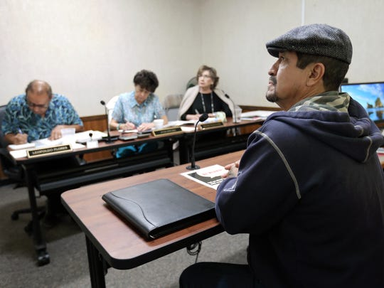 El Paso homeowner Pedro Onsurez recently went before an Appraisal Review Board at the Central Appraisal District to protest his home's taxable value. Many homeowners are protesting the district's new valuations of their homes.