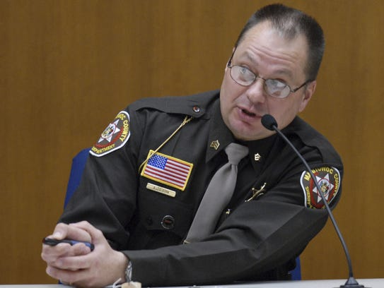 Manitowoc County Sheriff's Sgt. Andrew Colborn testified