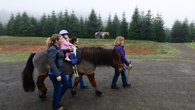 The Adaptive Riding Institute, a nonprofit since renamed Horses of Hope, was a finalist for a State Farm Neighborhood Assist grant in 2013.