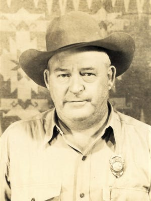 Sheriff Dick Hancock in the 1940s