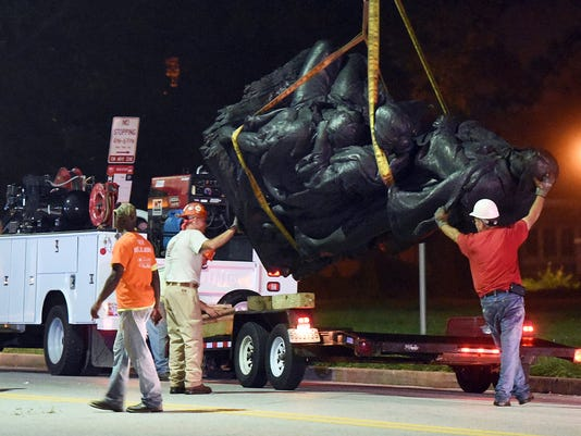 AP CONFEDERATE MONUMENTS BALTIMORE A USA MD