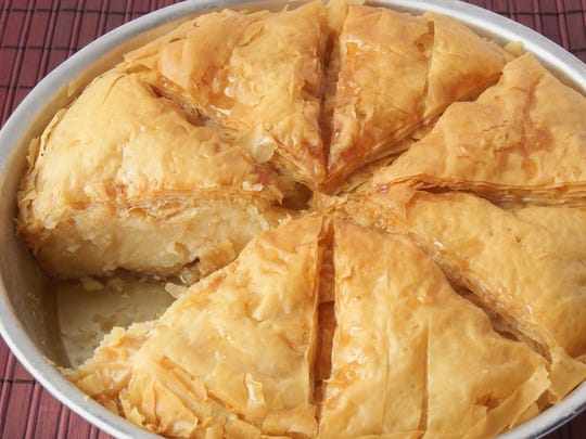 Galaktobouriko is among the traditional Greek sweets available at this weekend's Greek Fest Fort Myers.
