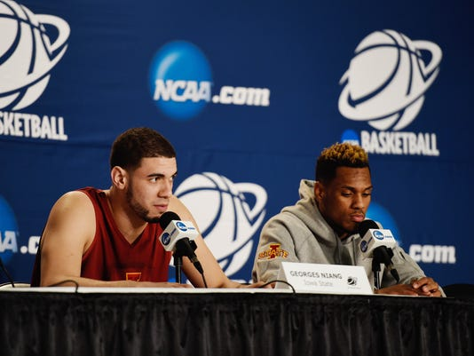 NCAA Basketball: NCAA Tournament-Iowa State Practice