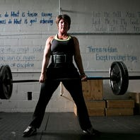 Women weight-lifters inspire, challenge each other to excel